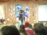 Всем смотреть, НГ 2010 в гимназии!!!( 3 секунды нашего номера)