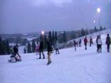 сорочаны 2011 3 января сноуборд катание снег горные лыжи покатушки зима новый год